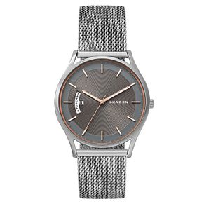 Skagen Holst Men's Silver Stainless Steel Bracelet Watch - Product number 8144850