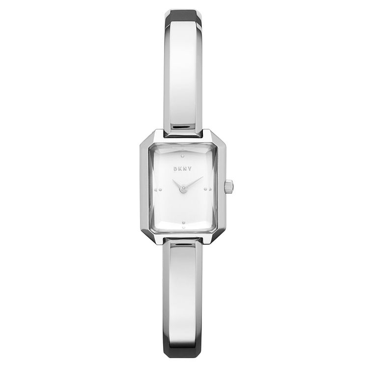 DKNY Cityspire Ladies' Silver Stainless Steel Bracelet Watch - Product number 8144923