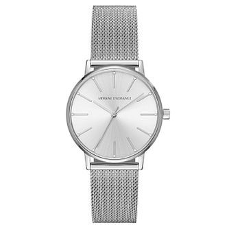 Armani Exchange Ladies' Stainless Steel Mesh Bracelet Watch - Product number 8145016