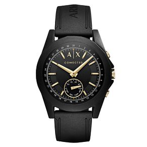 Armani Exchange Connected Men's Black Hybrid Smartwatch - Product number 8145075
