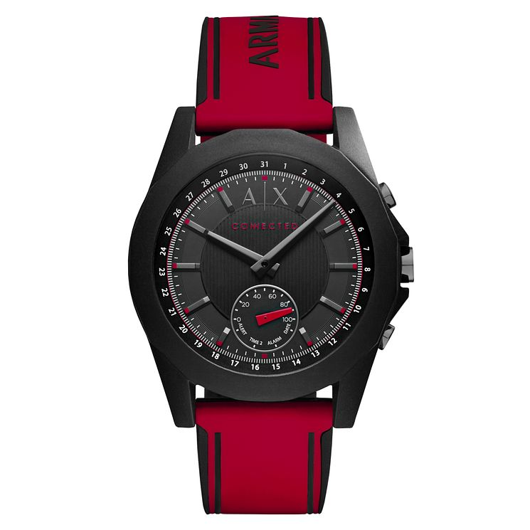 Armani Exchange Connected Men's Red Hybrid Smartwatch - Product number 8145083