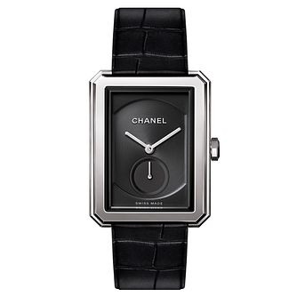 Chanel Ladies' Boyfriend Black Stainless Steel Strap Watch - Product number 8145660
