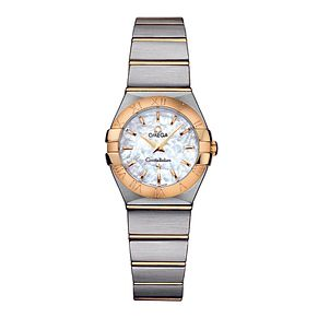 Omega Constellation Quartz ladies' Bracelet watch - Product number 8146608