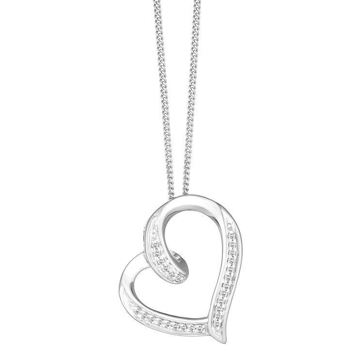necklace az appl love sterling bling day gifts jtn gold silver chains heart pendant valentines jewelry slide