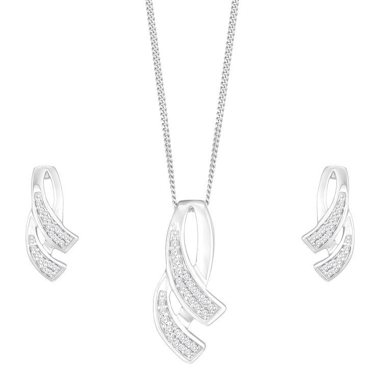 White Gold Jewellery Sets Ernest Jones