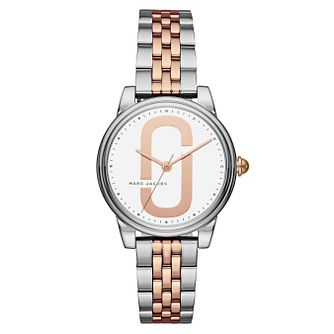 Marc Jacobs Corie Ladies' Two Colour White Bracelet Watch - Product number 8147868