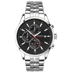 Sekonda Men's Dual Time Stainless Steel Bracelet Watch - Product number 8151245