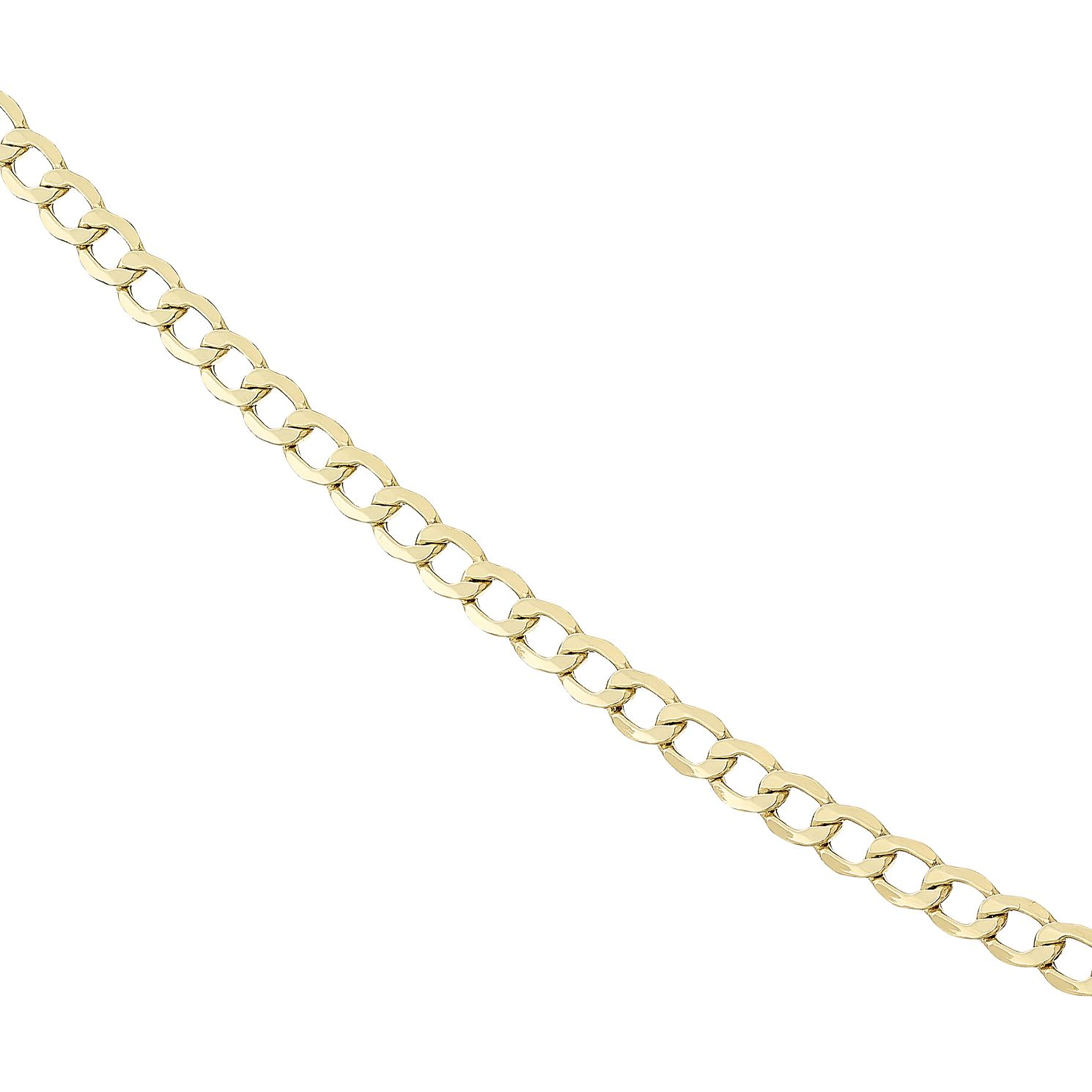 Necklaces for him hmuel mens 9ct gold curb chain 20 product number 8151741 aloadofball Images