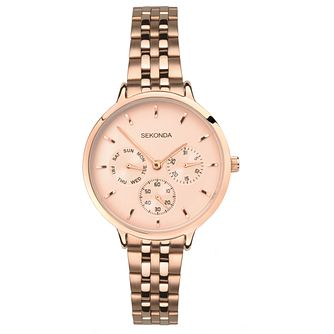 Sekonda Editions Ladies' Rose Gold Bracelet Watch - Product number 8152497