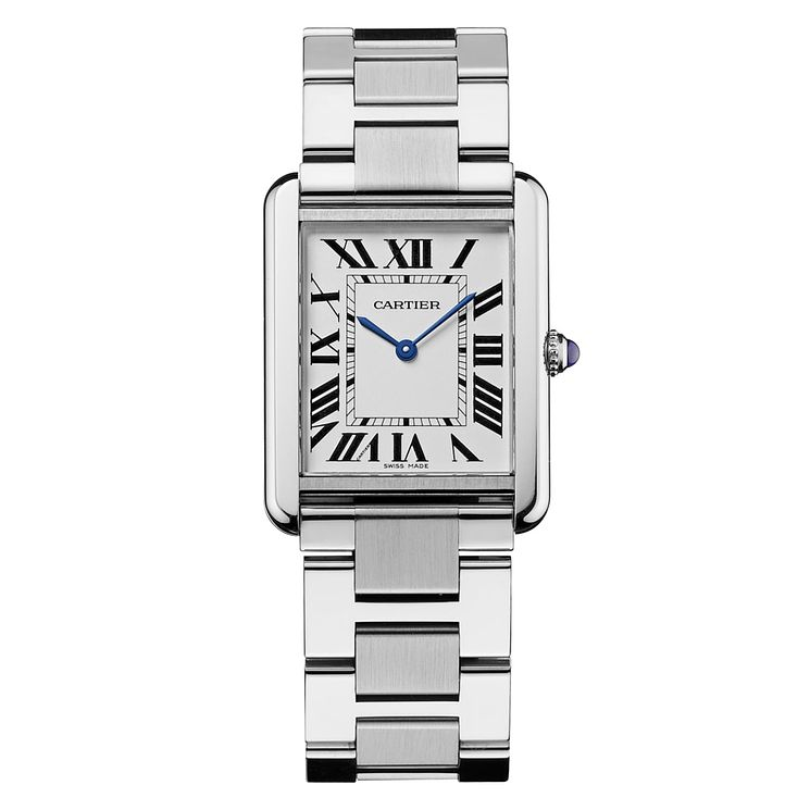 Cartier Tank Solo men's stainless steel bracelet watch - Product number 8152918