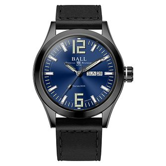 Ball Engineer III King Men's Steel Black Strap Watch - Product number 8154090