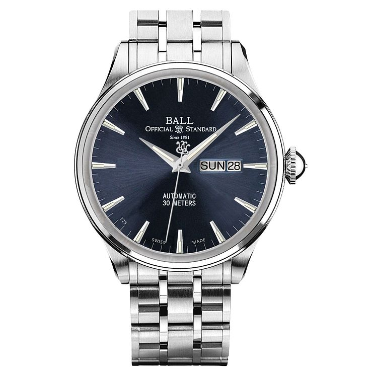Ball Trainmaster Eternity Men's Stainless Steel Watch - Product number 8154112