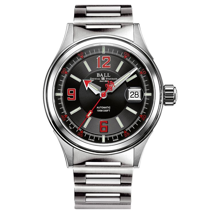 Ball Fireman Racer Men's Stainless Steel Bracelet Watch - Product number 8154120
