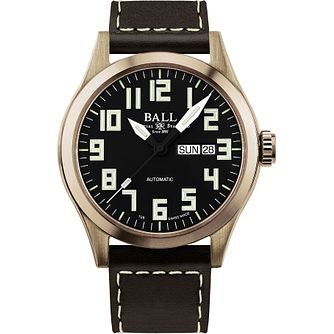 Ball Engineer III Bronze Men's Black Strap Watch - Product number 8154147