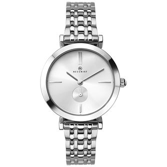 Accurist Ladies' Stainless Steel Bracelet Watch - Product number 8158428