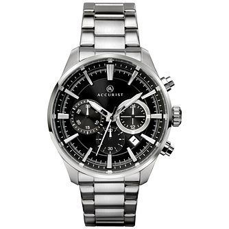 Accurist Men's Stainless Steel Chronograph Watch - Product number 8158533