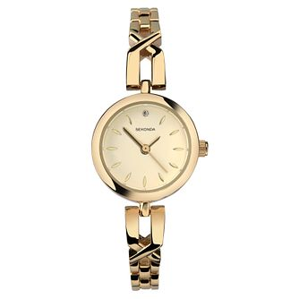 Sekonda Ladies' Gold Plated Bracelet Watch - Product number 8158576