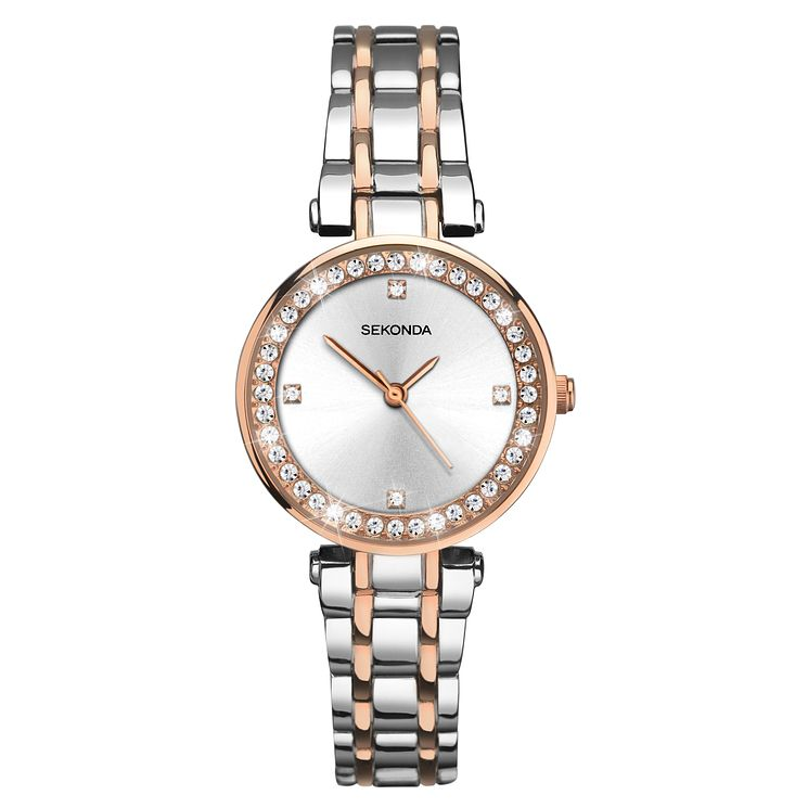 Sekonda Ladies' Two Tone Bracelet Watch - Product number 8158592