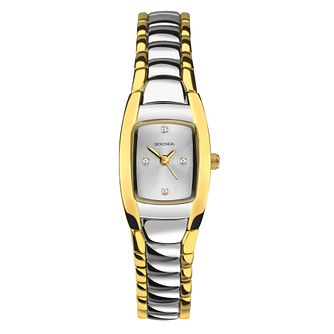 Sekonda Ladies' Two Tone Alloy Bracelet Watch - Product number 8158606