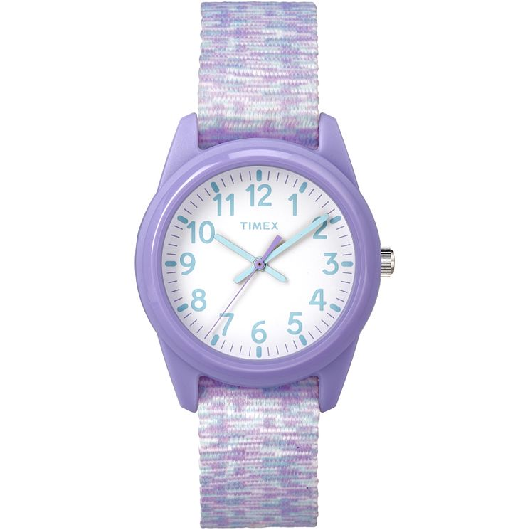 Timex Time Machines Children's Purple Nylon Strap Watch - Product number 8163545