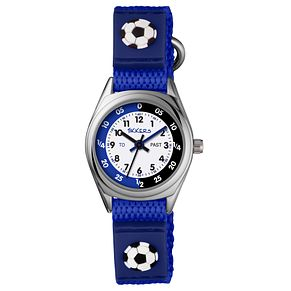 Tikkers Children's Blue Velcro Strap Watch - Product number 8185905
