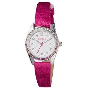 Tikkers Children's Pink Strap Watch - Product number 8185913