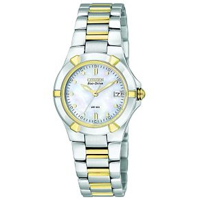 Citizen Eco-Drive Ladies' Two Tone Bracelet Watch - Product number 8191972