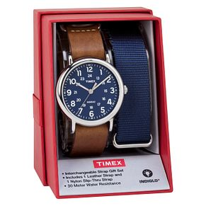 Timex Men's Weekender Multi Strap Watch Set - Product number 8193916