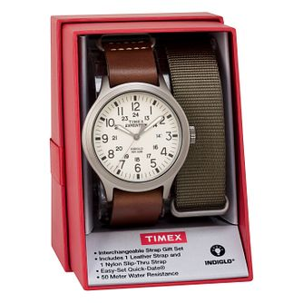 Timex Men's Expedition Scout Multi Strap Watch Set - Product number 8193932
