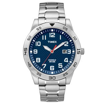 Timex Men's Stainless Steel Bracelet Watch - Product number 8194130