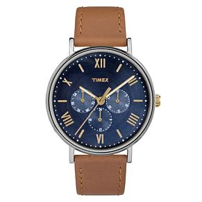 Timex Men's Southview Tan Leather Strap Watch - Product number 8194858