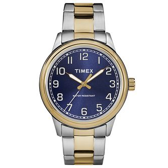 Timex Men's Heritage Two Tone Bracelet Watch - Product number 8194874