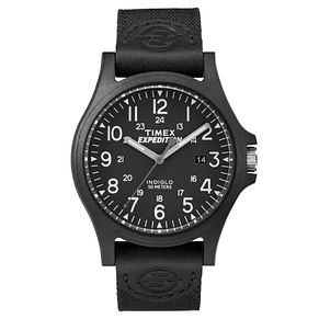 Timex Men's Expedition Acadia Black Nylon Strap Watch - Product number 8194963