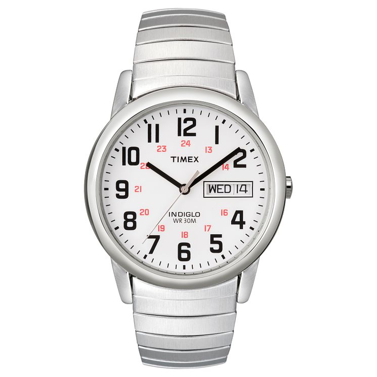 Timex Men's Silver Bracelet Watch - Product number 8195277