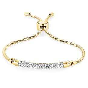 Buckley London Gold-Plated Crystal Adjustable Bracelet - Product number 8195781