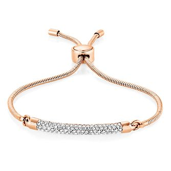 Buckley London Rose Gold-Plated Crystal Adjustable Bracelet - Product number 8195803