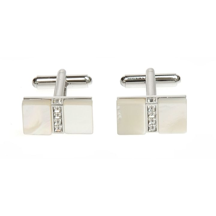 Simon Carter mother of pearl stone set cufflinks - Product number 8205191