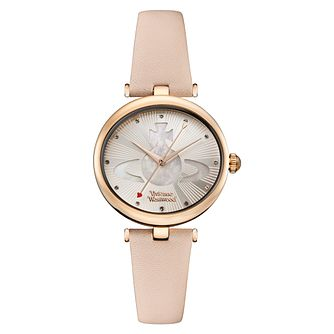 Vivienne Westwood Belgravia Ladies' Rose Gold Tone Watch - Product number 8215979
