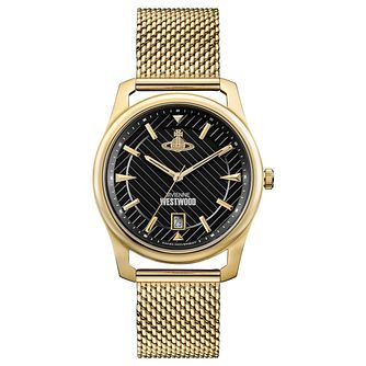 Vivienne Westwood Holborn Men's Yellow Gold Tone Watch - Product number 8216002