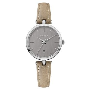 Barbour Adeline Ladies' Grey Stainless Steel Strap Watch - Product number 8216134
