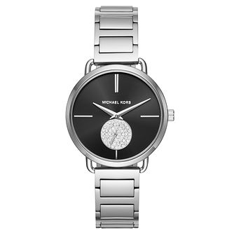 Michael Kors Portia Ladies' Stainless Steel Bracelet Watch - Product number 8216274