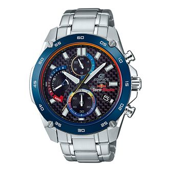 Casio Edifice Men's Scuderia Toro Rosso Steel Bracelet Watch - Product number 8216339