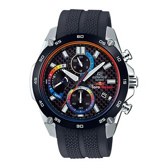 Casio Edifice Men's Scuderia Toro Rosso Black Strap Watch - Product number 8216347