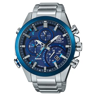 Casio Edifice Men's Bluetooth Smart Steel Bracelet Watch - Product number 8216363