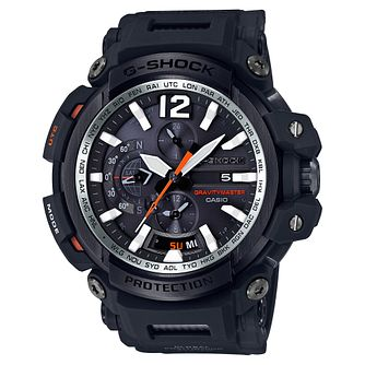 G-Shock Men's GravityMaster Black Resin Strap Watch - Product number 8216479
