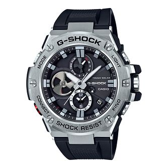 Casio G-Shock G-Steel Men's Black Silicone Strap Watch - Product number 8216487