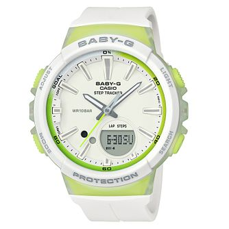 Baby-G Ladies' White Resin Strap Watch - Product number 8216576