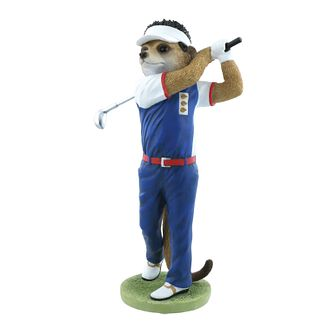 Magnificent Meerkats Nick Golf Figurine - Product number 8216924