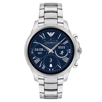 Emporio Armani Connected Men's Stainless Steel Smartwatch - Product number 8217033