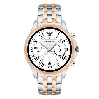 Emporio Armani Connected Men's Two Colour Display Smartwatch - Product number 8217041